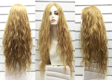 "Mono Top Human Hair Wig Blonde, Natural Wave, 22""-24"" Long, 160 grams"