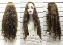 "Mono Top Human Hair Wig Brown, Natural Wave, 22""-24"" Long, 160 grams"
