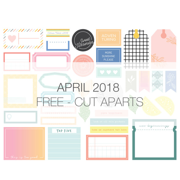 Savannah Cut Aparts - FREE - April 2018