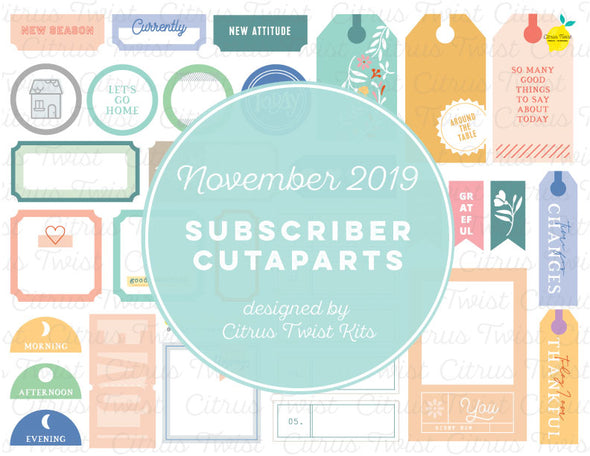 Printable - Cutaparts - November 2019