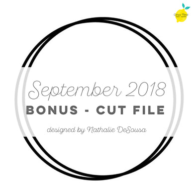 BONUS - Cut file - Wreath builder - September 2018