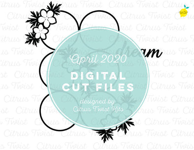 Cut file - DREAMY GRID - April 2020
