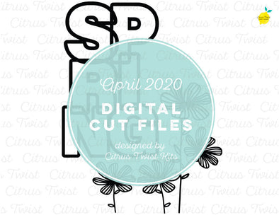 Cut file - SPRING - April 2020