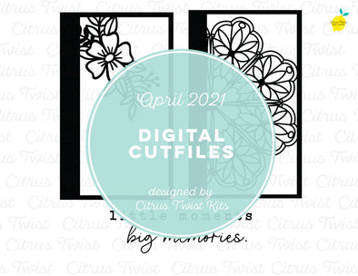 Digital Cut file - BIG MEMORIES SCREENS - April 2021