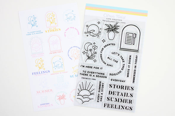 "August 2020 This Is Life ""STORIES"" Stamp"
