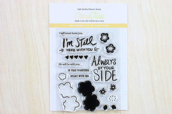 "SALE: Citrus Twist GraceBox ""By Your Side"" v29 Stamp"