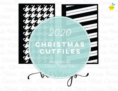 Cut file - BLESSINGS SCREENS - Christmas 2020