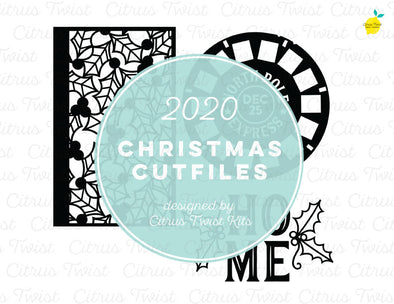 Cut file - HOME - Christmas 2020