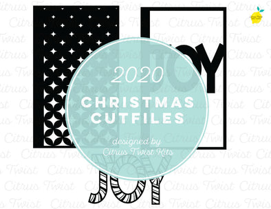Cut file - JOY SCREENS - Christmas 2020