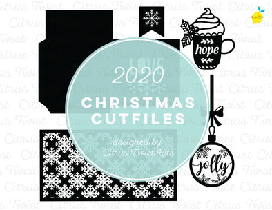 Cut file - LOVE - Christmas 2020