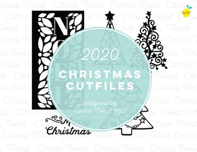 Cut file - TREES - Christmas 2020