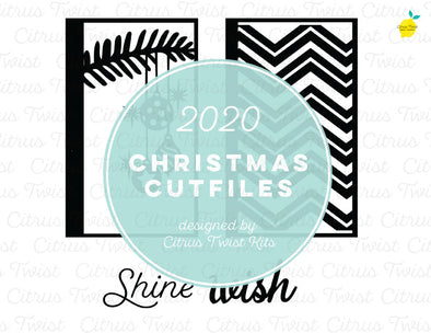 Cut file - WISH SCREENS - Christmas 2020