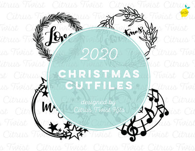 Cut file - WREATHS - Christmas 2020