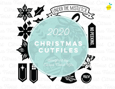 Cut file - ICONS - Christmas 2020