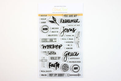 Citrus Twist Faithfully Yours Stamp