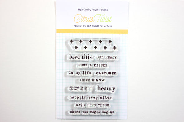 "Citrus Twist ""Happily Ever After"" Stamp"
