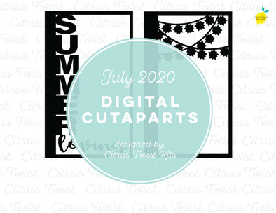 Cut file - SUMMER LOVING - July 2020