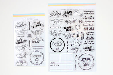 "Citrus Twist 6"" x 8"" WEATHERING Stamp BUNDLE"