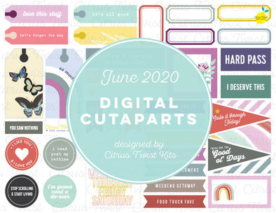 Printable - Cutapart Elements - June 2020