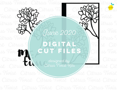 Cut file - ME TIME - June 2020