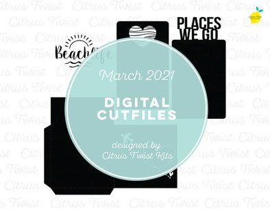 Digital Cut file - PLACES WE GO - March 2021