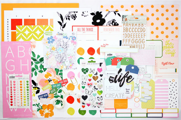 March 2020 Scrapbooking Add-on Kit