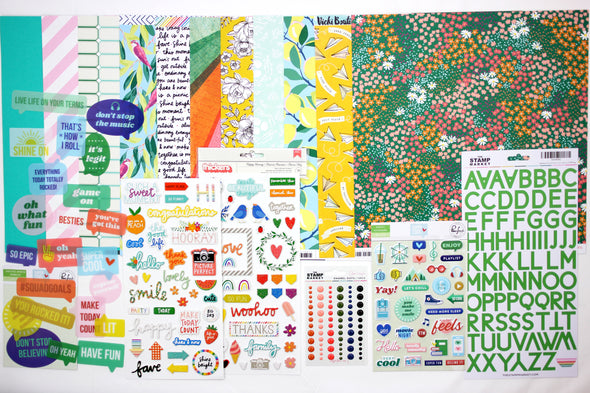 May 2020 Scrapbooking Add-on Kit