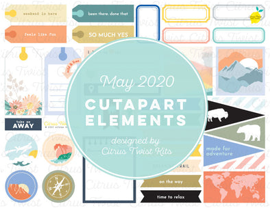 Printable - Cutapart Elements - May 2020