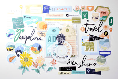 Citrus Twist May 2020 JOURNEYS Die-Cut Cardstock Ephemera