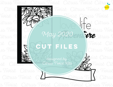 Cut file - LOVE LIFE ADVENTURE - May 2020