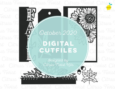 Cut file - FALL - October 2020