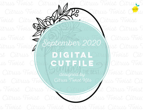 Cut file - SIMPLY THE BEST - September 2020