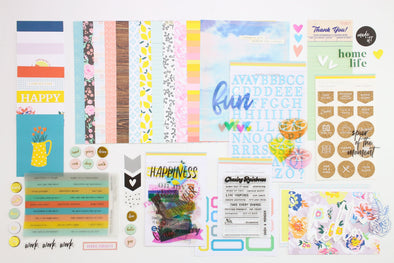 "Life Crafted ""Chasing Rainbows"" Single Kit - August 2019"