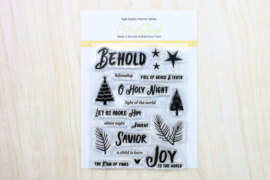 "SALE: Citrus Twist GraceBox ""Behold"" Stamp"