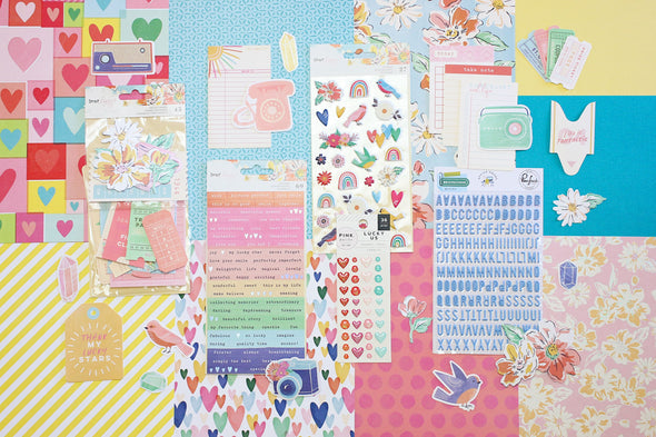 January 2020 Scrapbooking Add-on Kit