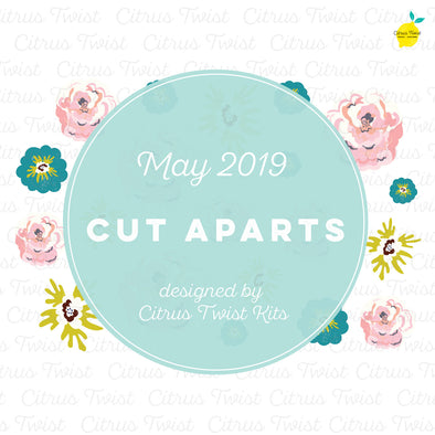 Excursions Floral Cut Apart Collection  - May 2019