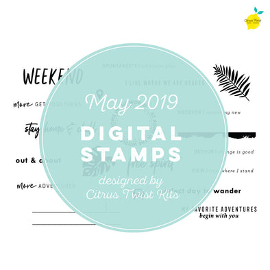 "This is Life ""Free Spirit"" Digital Stamp Set - May 2019"