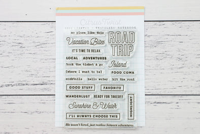 May 2019 Life Crafted Travelers Notebook Stamp, Single