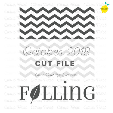 Cut file - Falling - October 2018