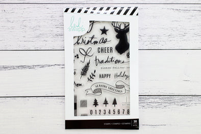 "Heidi Swapp Winter Wonderland 4"" x 6"" Stamp"