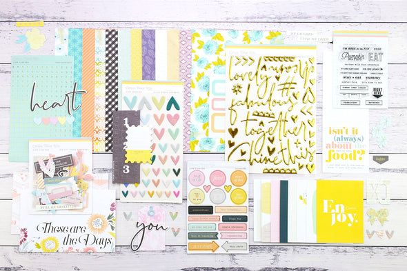 "SALE: Life Crafted ""At My Table"" Single Kit - October 2019"