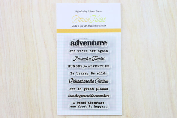 "April 2018 ""Adventure"" Stamp"