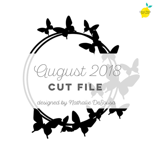 Cut File - Butterfly Ring - August 2018
