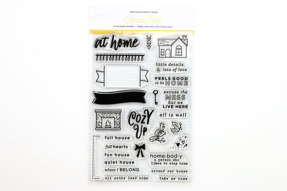 "This Is Life ""At Home"" 4"" x 6"" Stamp"