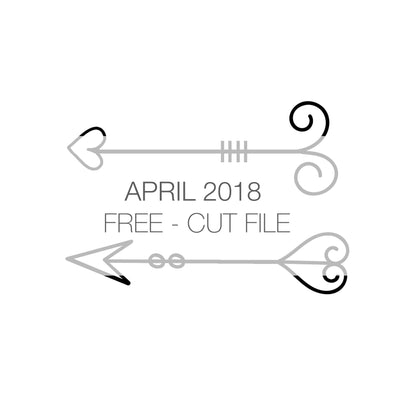 Cut File - Arrows - FREE - April 2018