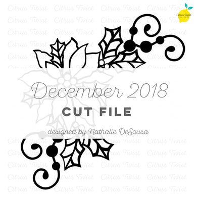 Cut file - Poisetta - December 2018