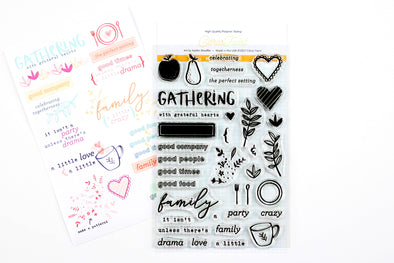 Citrus Twist Gathering Stamp