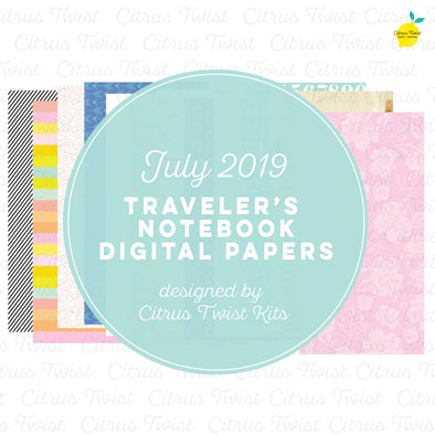 Best of This Life Notebook Digital Papers - July 2019