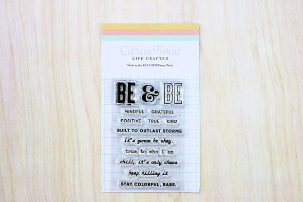 "March 2019 Life Crafted 2"" x 3"" Stamp Add-On"