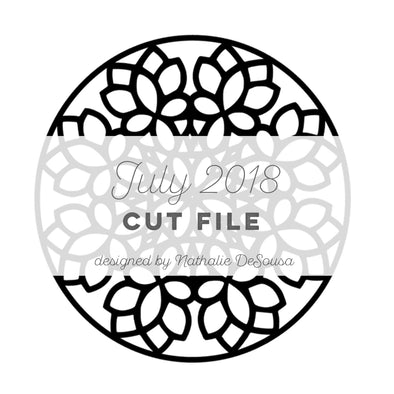 Cut File - FREE - Mandala - July 2018 (designed by Nathalie DeSousa)